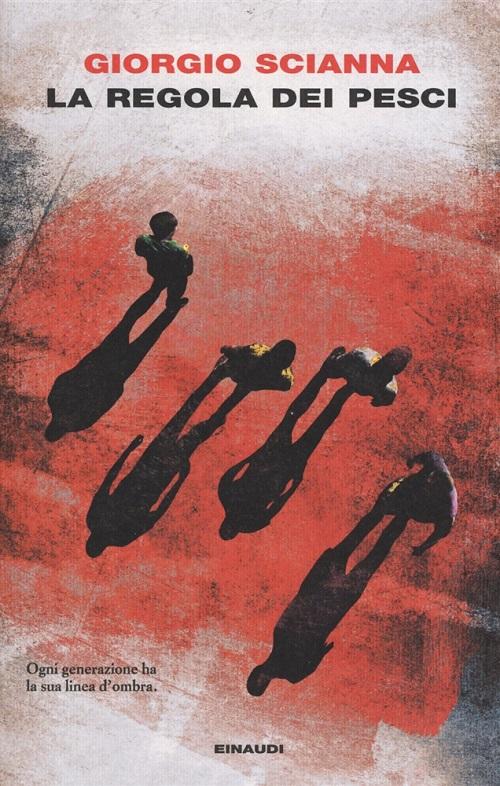Copertina del libro con l'immagine di 4 figure riprese dall'alto